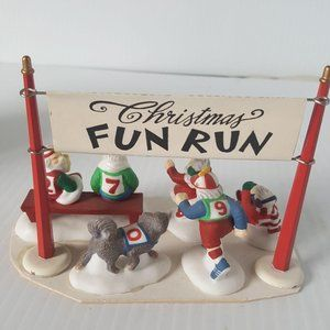 Dept 56 Christmas Fun Run North Pole Series 1998